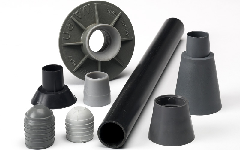 Spacers For Concrete Columns : Spacer tubes and cones inform uk